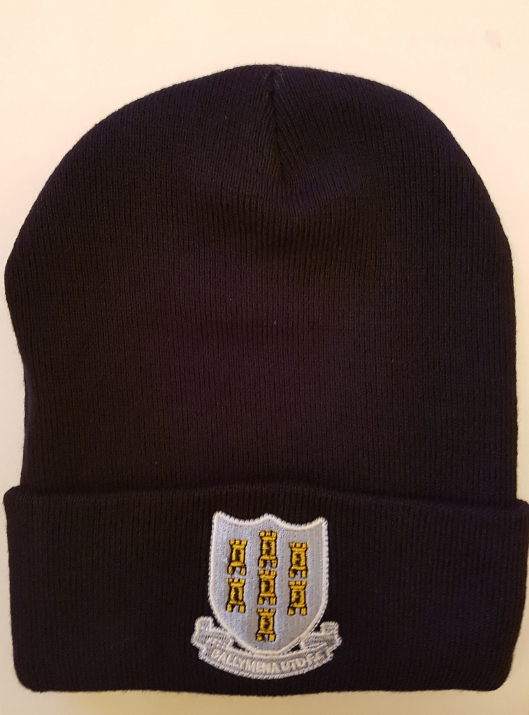 dd88fd46266 Ballymena United Football Club Official News - Navy bronx hats and ...